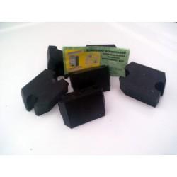 Gumy medzi závity pružín (6 kusov)